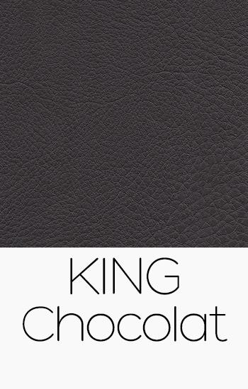 Tissu King chocolat