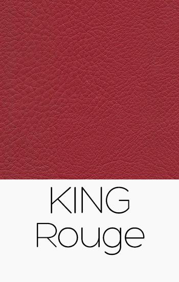 Tissu King rouge