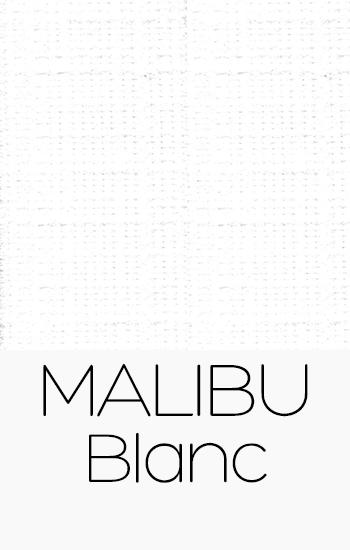 Tissu Malibu blanc