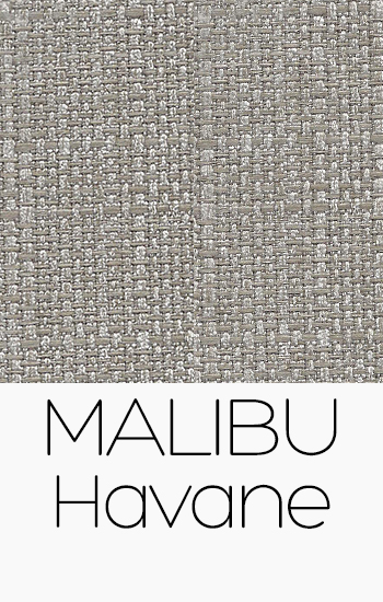 Tissu Malibu havane