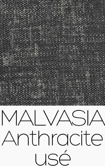Tissu Malvasia anthracite-use