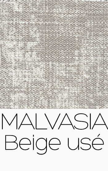 Tissu Malvasia beige-use