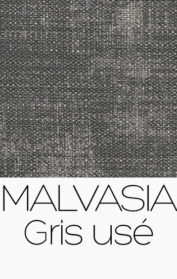 Tissu Malvasia gris-use