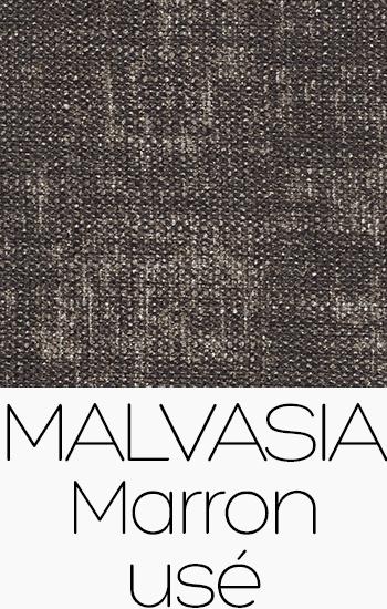 Tissu Malvasia marron-use