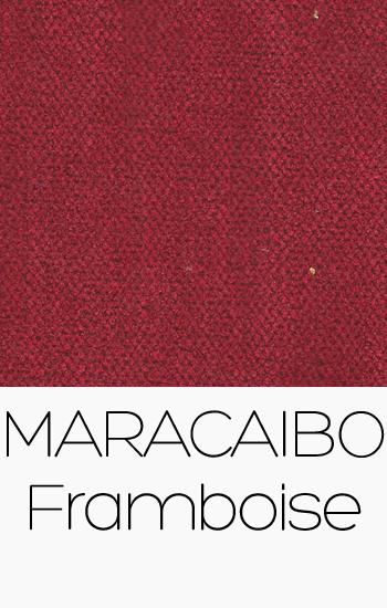 Tissu Maracaibo Framboise
