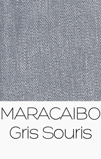 Tissu Maracaibo Gris Souris