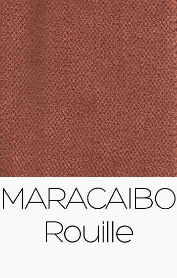 Tissu Maracaibo Rouille