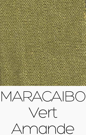 Tissu Maracaibo Vert Amande