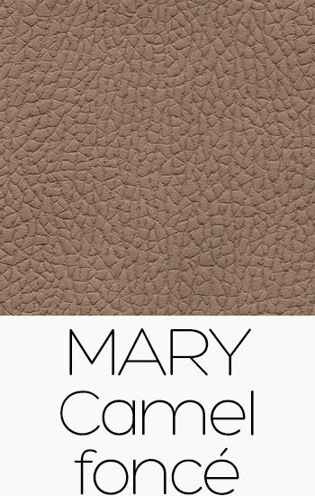 Tissu Mary camel-fonce