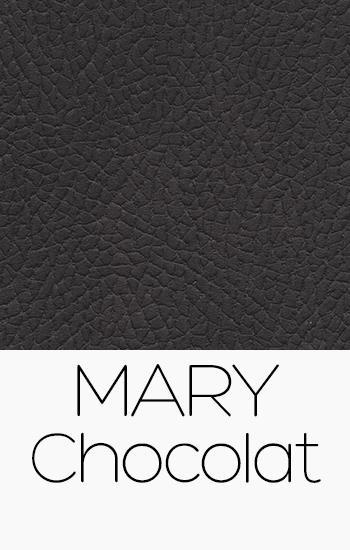 Tissu Mary chocolat