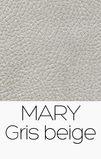 Tissu Mary gris-beige