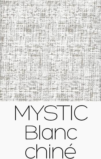 Tissu Mystic blanc-chine