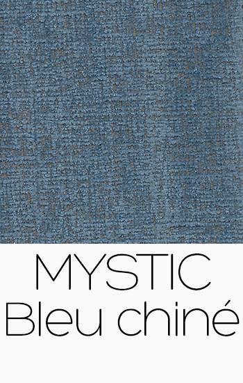 Tissu Mystic bleu-chine