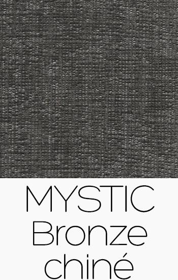 Tissu Mystic bronze-chine