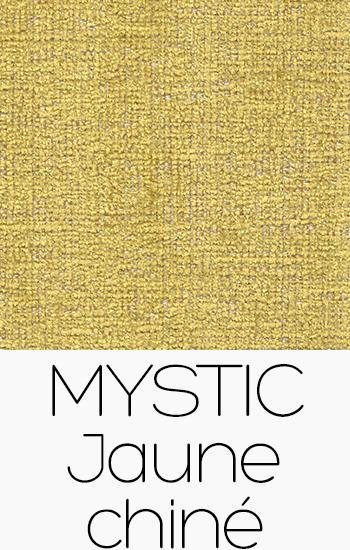 Tissu Mystic jaune-chine