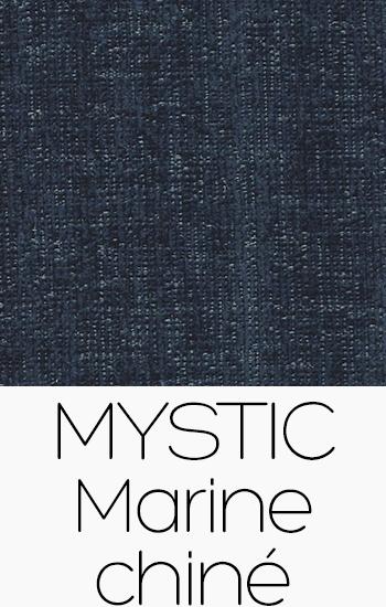 Tissu Mystic marine-chine