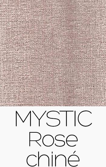 Tissu Mystic rose-chine