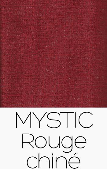 Tissu Mystic rouge-chine