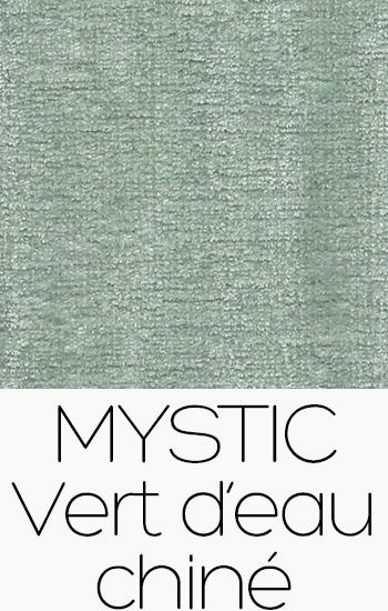 Tissu Mystic vert-deau-chine