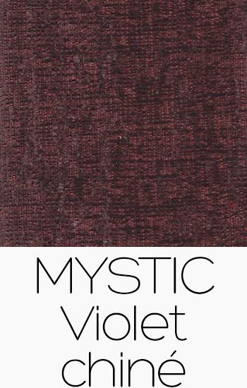 Tissu Mystic violet-chine