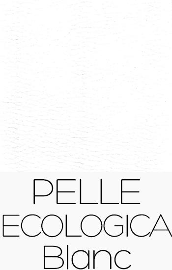Tissu Pelle Ecologica blanc