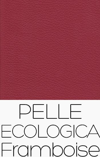 Tissu Pelle Ecologica framboise