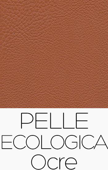 Tissu Pelle Ecologica ocre
