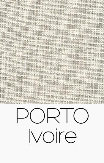 Tissu Porto ivoire