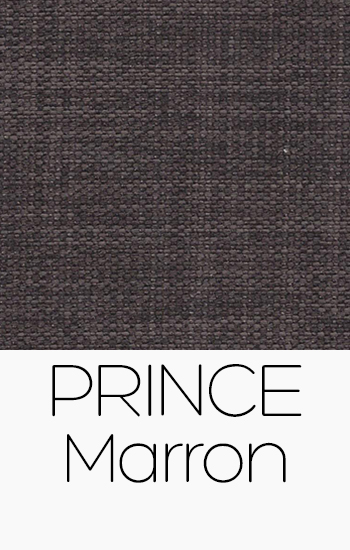 Tissu Prince marron