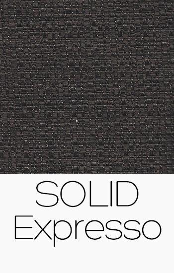 Tissu Solid expresso