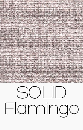 Tissu Solid flamingo