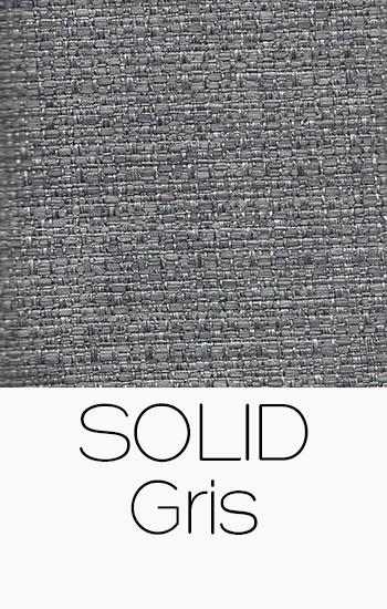 Tissu Solid gris