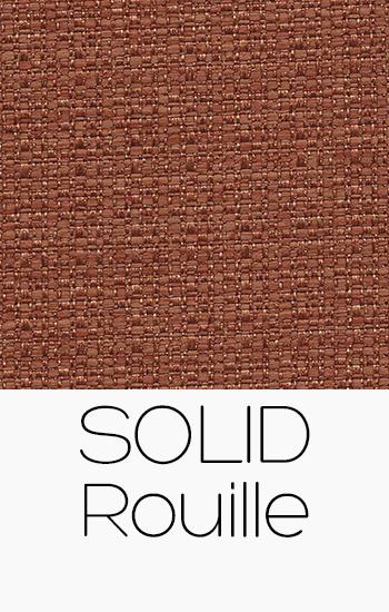 Tissu Solid rouille