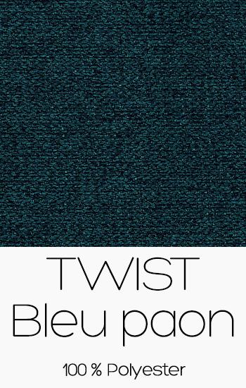 Twist Bleu Paon