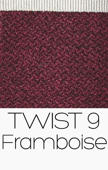 Tissu Twist Framboise