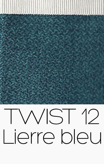 Tissu Twist Lierre bleu