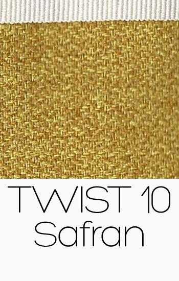 Tissu Twist safran