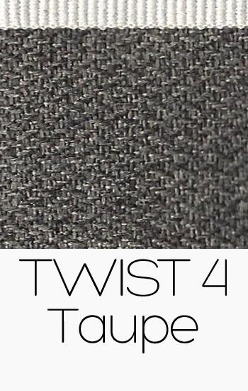 Tissu Twist Taupe
