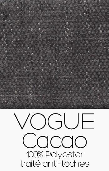 Tissu Vogue Cacao
