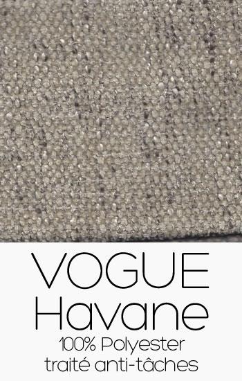 Tissu Vogue Havane