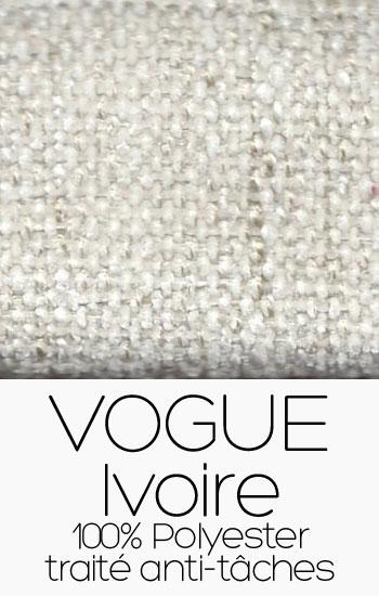 Tissu Vogue Ivoire