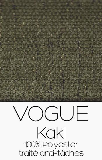 Tissu Vogue Kaki