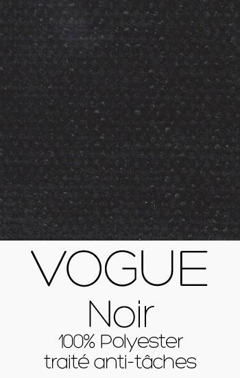 Tissu Vogue Noir