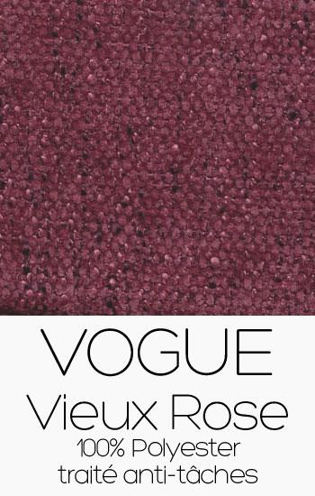 Tissu Vogue Vieux Rose