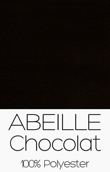 Tissu Abeille Chocolat