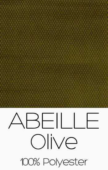 Tissu Abeille Olive
