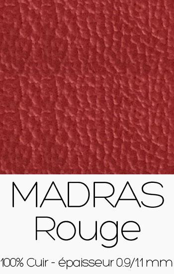 Cuir Madras Rouge