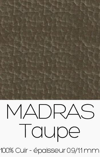 Cuir Madras Taupe