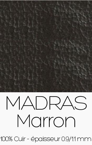 Cuir Madras Marron