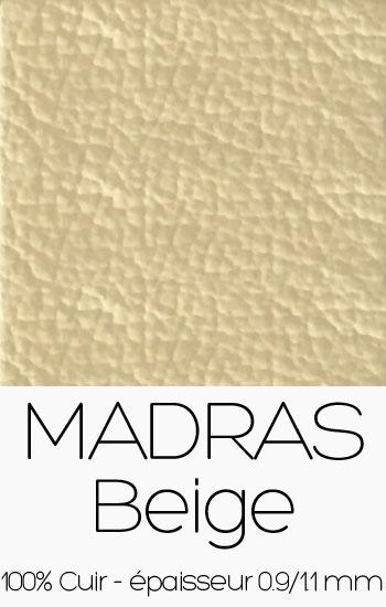 Cuir Madras Beige